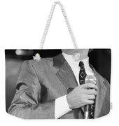 Robert Palmer Weekender Tote Bag