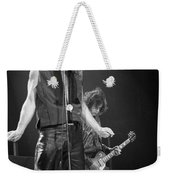 Robert Plant And Jimmy Page Weekender Tote Bag