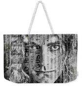 Robert Plant - Led Zeppelin Weekender Tote Bag