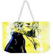 Robert Plant Of Led Zeppelin   Weekender Tote Bag