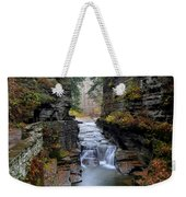 Robert Treman State Park Weekender Tote Bag by Frozen in Time Fine Art Photography