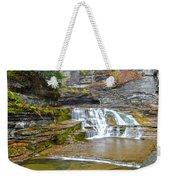 Robert Treman Waterfall Weekender Tote Bag