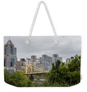 Roberto Clemente Bridge Pittsburgh Pa Weekender Tote Bag