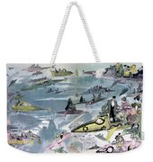 Robida Future Travel, C1902 Weekender Tote Bag