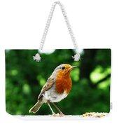 Robin Bird Photograph Weekender Tote Bag