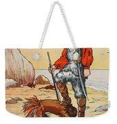 Robinson Crusoe And Friday Weekender Tote Bag