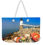 Robinson Point Lighthouse Weekender Tote Bag