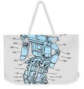 Robot Patent Weekender Tote Bag