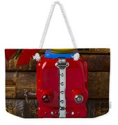 Robot With Butterfly Weekender Tote Bag