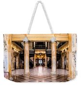 Rochester City Hall Main Hall Weekender Tote Bag