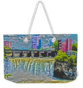 Rochester High Falls Weekender Tote Bag