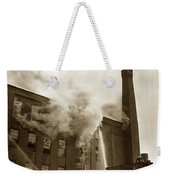 Rochester Show Case Co. Fire New York Circa 1904 Weekender Tote Bag