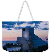 Rock And Roll Hall Of Fame Weekender Tote Bag by Dale Kincaid
