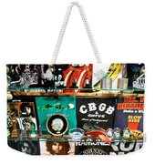 Rock And Roll On St. Marks   Nyc Weekender Tote Bag