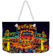 Rock And Roll On The Boardwalk Weekender Tote Bag