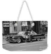 Rock And Roll Radio Campaign Weekender Tote Bag