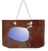 Rock Art Weekender Tote Bag