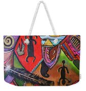 Rock Art Of Nevada Weekender Tote Bag
