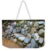 Rock Bench Weekender Tote Bag