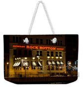 Rock Bottom - Milwaukee  Weekender Tote Bag