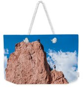 Rock Climbing  Weekender Tote Bag