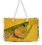 Rock Creek Rainbow Weekender Tote Bag by Lauren Leigh Hunter Fine Art Photography