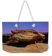 Rock Formation In Canyon De Chelly Weekender Tote Bag