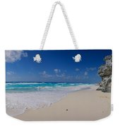 Rock Formation On The Coast, Cancun Weekender Tote Bag