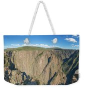 Rock Formations In Black Canyon Weekender Tote Bag