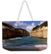 Rock Formations In The Ocean, Loch Ard Weekender Tote Bag