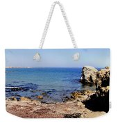 Rock Formations On The Beach, Marcona Weekender Tote Bag