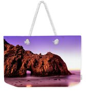Rock Formations On The Beach, Pfeiffer Weekender Tote Bag