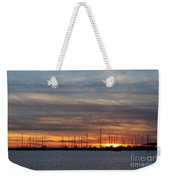 Rock Hall Sunset I Weekender Tote Bag