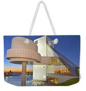 Rock Hall Sunset Weekender Tote Bag