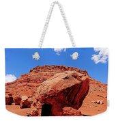 Rock House In Arizona Weekender Tote Bag