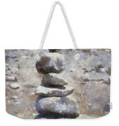 Rock Markers Photo Art 02 Weekender Tote Bag