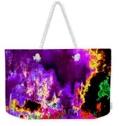 Rock 'n' Roll In Purple Night Weekender Tote Bag