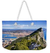 Rock Of Gibraltar Weekender Tote Bag