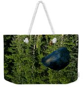 Rock Out Of Reflecting Lake Weekender Tote Bag