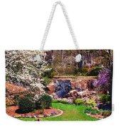Rock Quarry Garden Weekender Tote Bag