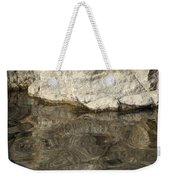 Rock Reflection Weekender Tote Bag