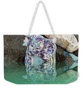 Rock Reflections - Water - Beach Weekender Tote Bag
