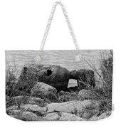 Rock Shoreline Weekender Tote Bag