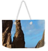 Rock Stack Weekender Tote Bag