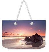 Rock Sunset 03 Weekender Tote Bag
