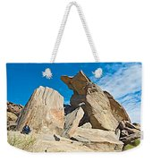 Rock Uplifts In Andreas Canyon In Indian Canyons-ca Weekender Tote Bag