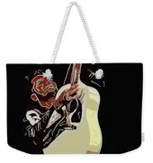 Rockabilly Electric Guitar Player  Weekender Tote Bag by Tommytechno Sweden
