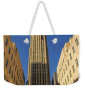 Ge Building  Weekender Tote Bag by Dan Sproul