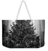 Rockefeller Christmas Tree Weekender Tote Bag