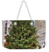 Rockefeller Tree Weekender Tote Bag